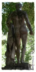 Redim-statue