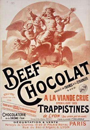 chocolat à la viande crue