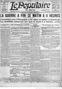 journaux-1918-11-12 Le Populaire, armistice copie.jpg