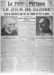 journaux-1918-11-12 Le Pt Parisien, fin Ière GM copie.jpg